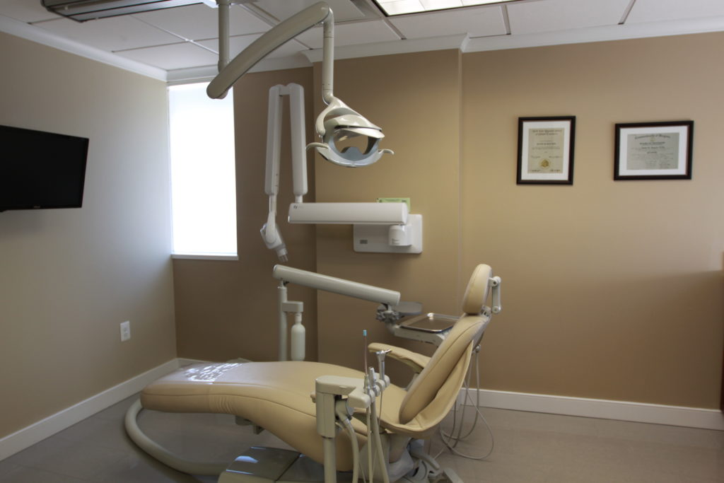 Patient Room at Vienna Dental Arts